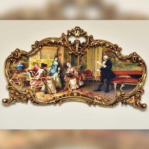 Print on velvet with European Frames
