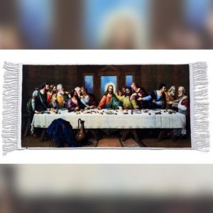 The Last Supper photo on Rug